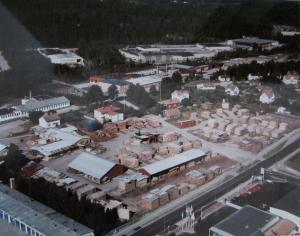 Flygfoto Kimarp 70-ta