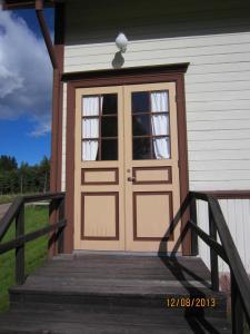 Dörr tillverkad av Tranås Snickerifabrik 1907