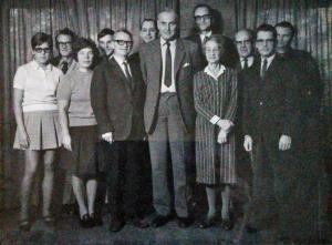 Tranås Skolmöbler AB Kontorspersonal 1970