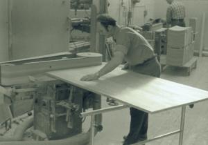 10 Finputs av bordsskiva Josef Tingåker 1965