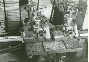 Hyvling ämnen till limmaskin 1964