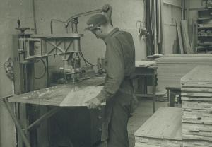 Kvistborrning Bernt Karlsson1964