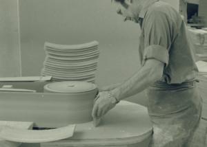 10 Putsning av ryggbricka framsida Josef Tingåker1964