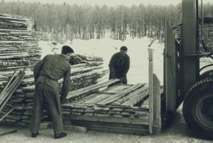 4 Ströläggning bröderna Evert och Ingvar Göransson