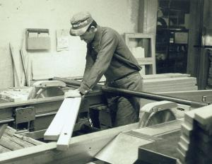 Justersågning Sven Engdahl 1966