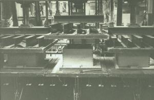 Limmaskinen för sitsar 1964