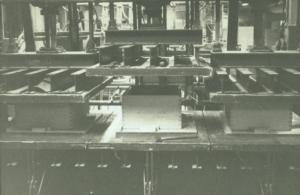 7 Limmaskinen för sitsar 1964