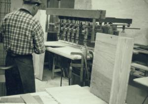 80 Hopmontering av hurtsar Evan Eklund 1964