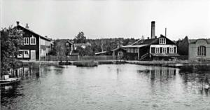 Tranås snickerifabrik grundades 1896 av B. F. Gelotte.