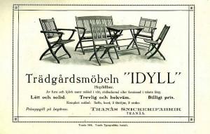 """116 Trädgårdsmöbeln """"IDYLL"""""""