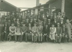 Tranås Snickerifabriks personal 1934