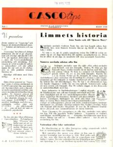 Cascotips Nr 1 Mars 1938 (1)