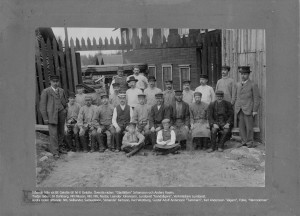 Tranås Snickerifabriks personal 1898