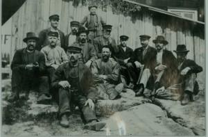 Tranås Snickerifabriks personal 1900